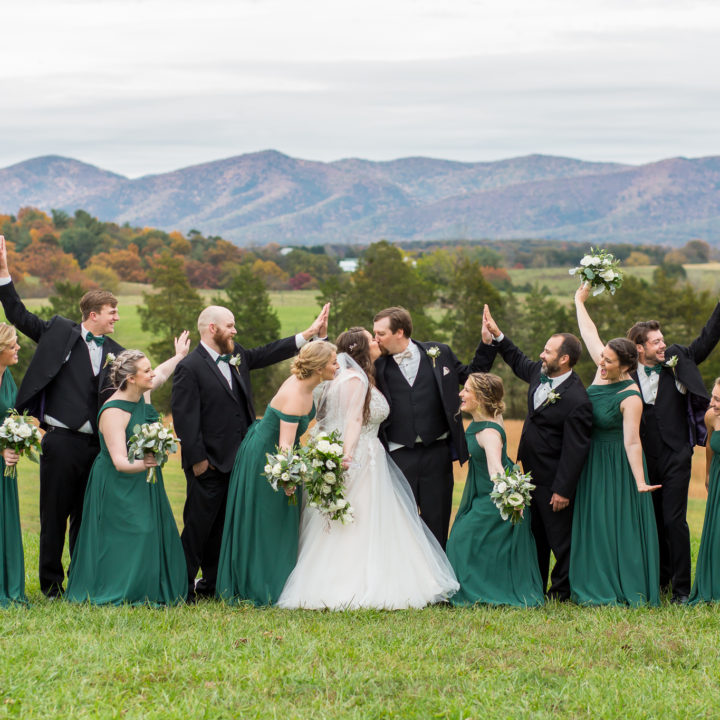 FUN FALL COLORS WEDDING AT CROSSKEYS VINEYARDS